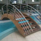 Garde-corps piscine inox
