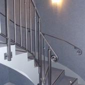 Garde-corps escalier intérieure avec main courante