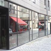 Carré Bouffay - Bouygues - Ory : Facade vitrée déstructurée