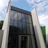 Mur rideau aluminium  wicona