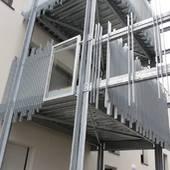 Balcon et garde-corps acier galvanisé
