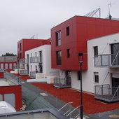 Maison neuve des Landes - Vendée Habitat - Rigolage Arch. : Balcons suspendus