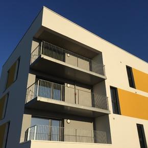 Balcon métallique