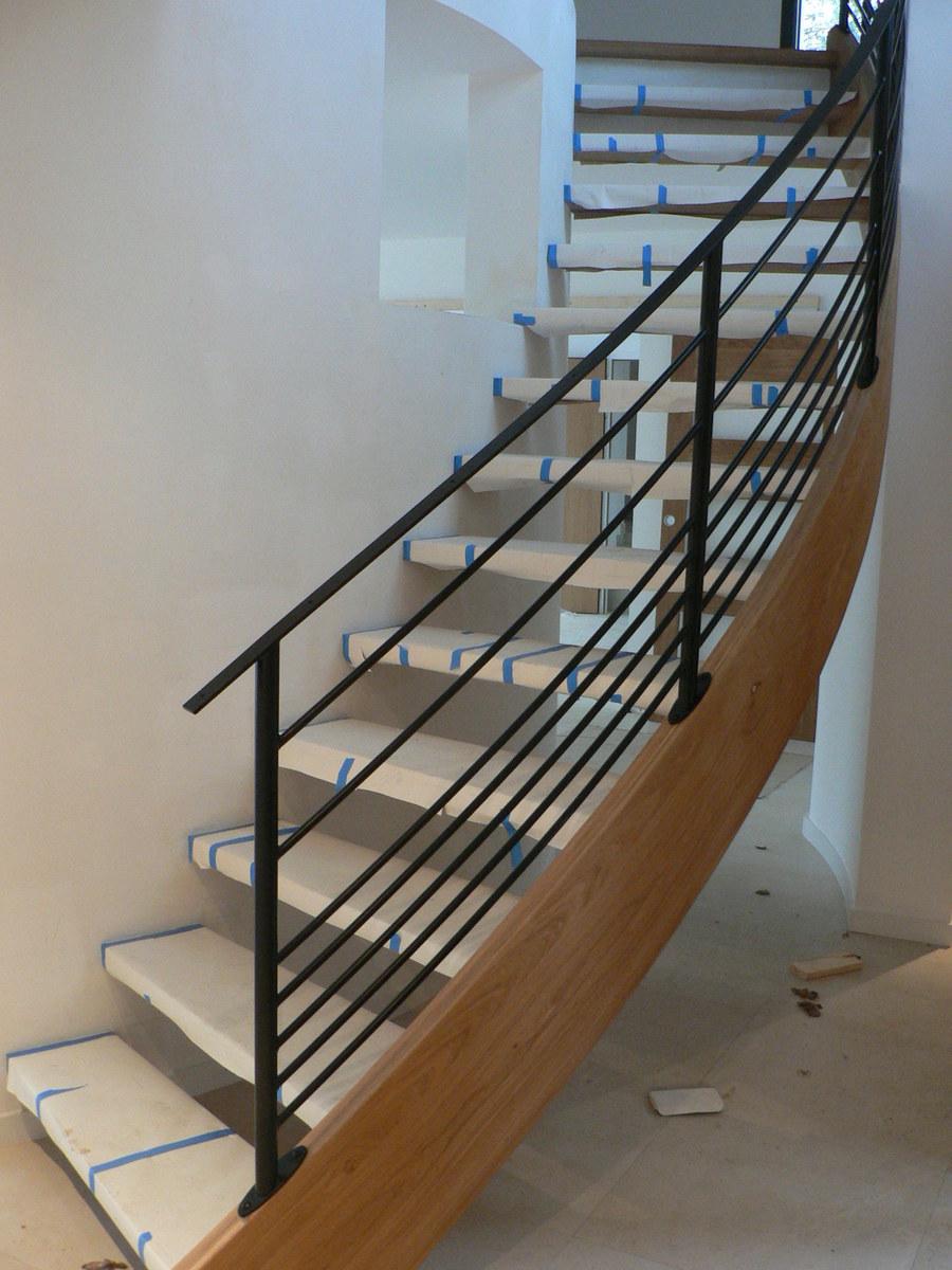 Garde De Corps Escalier l'escalier, une pièce de décoration à part entière dans la